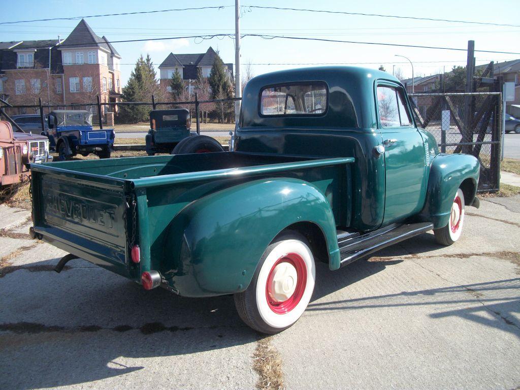 1954 Chevrolet Model 3100 Pick Up Fawcett Motor Carriage